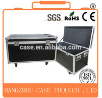 High quality black aluminum flight case