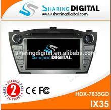 7 Inch Touch Screen Sat Nav auto radio for hyundai ix35