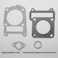 LIBERO YD100 top gasket for motorcycle