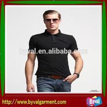 Men Clothing Cotton 100% cotton/polyester single Polo-neck Short Sleeve Fashion Polo T-shirt Men T-shirt