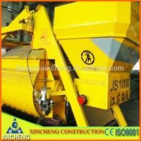 Best sale and Qualified Construction Macine!JS1000 self load concrete mixer