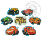 Funny Cartoon Car Shape Chocolate Biscuits Candy