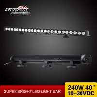 High performance spot combo beam Ip67 240W 39'' wholesale led light bar for jeep