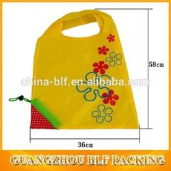 (BLF-NB429)Foldable polyester reusable bag