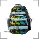 KOSTON branding Triangle decorative design sports & leisure skate backpack KB033