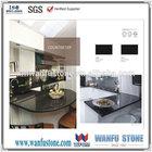 Black Galaxy granite kitchen countertop,natural granite countertop