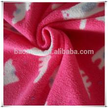 Cute Animal Pattern Anti Pilling Polar Fleece Fabric