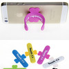 phone hanger holder stand brand names printable silicone rubber cell phone stand