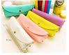 Popular Various Candy Color Simple High-capacity School Pencil Case
