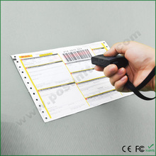 Factory promotion Handheld 1D Bluetooth portable barcode Scanner, bar code reader, Barcode Decoder MS3391