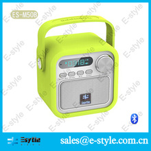 2014 new Alibaba manufacture colorful silicon cover cheap active subwoofer home with handle
