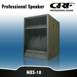 """GRF 18"""" Speakers and Loudspeaker Box"""