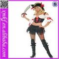 bambino boo Caraibi casual pirata danza costumi donne l1127