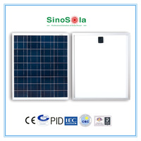 High efficiency 1w to 300w solar panel with frame and MC4 connector for leapfrog solar system