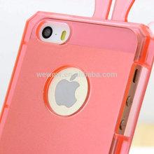 TPU material rabbit design mobile phone cases transparent rabbit design