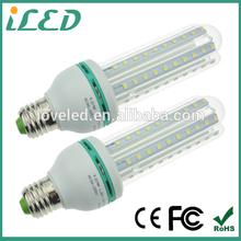 CE ROHS U shaped recessed lighing E27 G24 2835 SMD 12w led ceiling light for light barrel