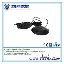 China huasheng 68mm black color round pillow speaker