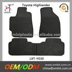 factory wholesale black highlander car mats china