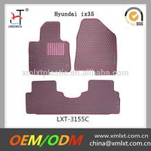 custom black brand car mats Hyundai ix35