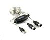 USB MIDI Cable,2M Length,Plug-and-play USB MIDI Cable