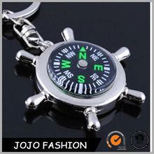 Fashion compass keychain metal key chain new trend design promotion key chain