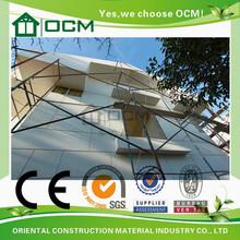 Fireproof green mgo mobile home wall paneling