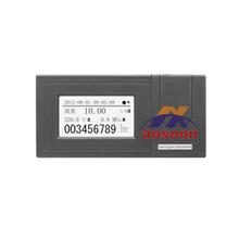 Fx1000 gas totalizador de flujo medidor, Registrador sin papel