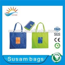 Polyester tote bag/Foldable polyester shopping bag/Polyester bag