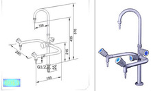 new! 2014 high quality laboratory faucets hot sale ! Laboratory Furniture/Gooseneck Faucet