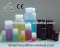 el equipo de laboratorio diferentes tamaños de plástico botella de reactivo