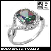 Vulcano China Factory Price Fashion 925 Silver Ring