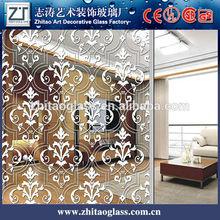 decorative art titanium mirror glass wholesale