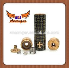 2014 nuovi prodotti nuovo design e sigaretta di alta qualità Black Knight mod clone 18.650 meccanico ingrosso alibaba