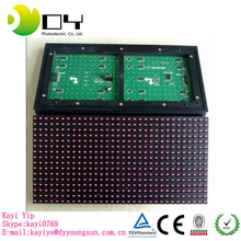 p10 all single color R/G/B/W/Y/P led running display for advertising