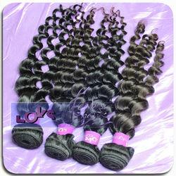 Unprocessed human hair big wave virgin Brazilian hair weaving
