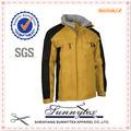sunnytex 2014 diseño ultra ligero chaqueta de los hombres de invierno tamaño más cálido y resistente al agua