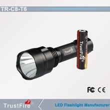 10w led flashlight C8 led flexible torch light 1000 lumen led flashlight