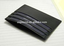 2015 New Short PU Leather Credit Card Holder/Case/Bag