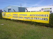 outdoor banners, outdoor advertising banner, outdoor vinyl banner