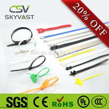 CSV Factory Direct free sampels zip binding cable tie