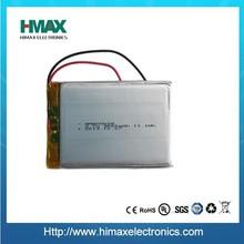 li-polymer battery 3.7v 3000mah for tablet pc lipo battery