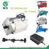 electric rickshaw ac induction motor with regenerative braking controller
