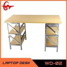 2014 top sale metal frame laminate office desk WD-02