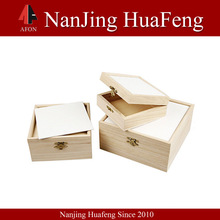 Factory direct supplier popular wood fruit box