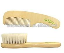 baby hair brush and comb set , baby hairbrush , hair brush and comb set