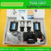 HID xenon kit h4-3 hi/lo lights accessories for chevrolet captiva