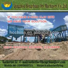 High Capacity Placer Gold Washing Trommel Scrubber Machine, Gold Washing Equipment