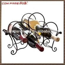 new design!!!wire wine bottle holder