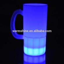 Wedding decoration cold light custom led flashing cup, led glow cups, custom led flashing mug