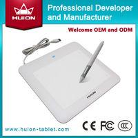 Cheapest!!! digital Electromagnetic Digitizer usb interactive pen graphics tablet/electronic signature pad huion